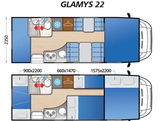 plano glamys